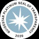 Guidestar Platinum Seal of Transparency Logo