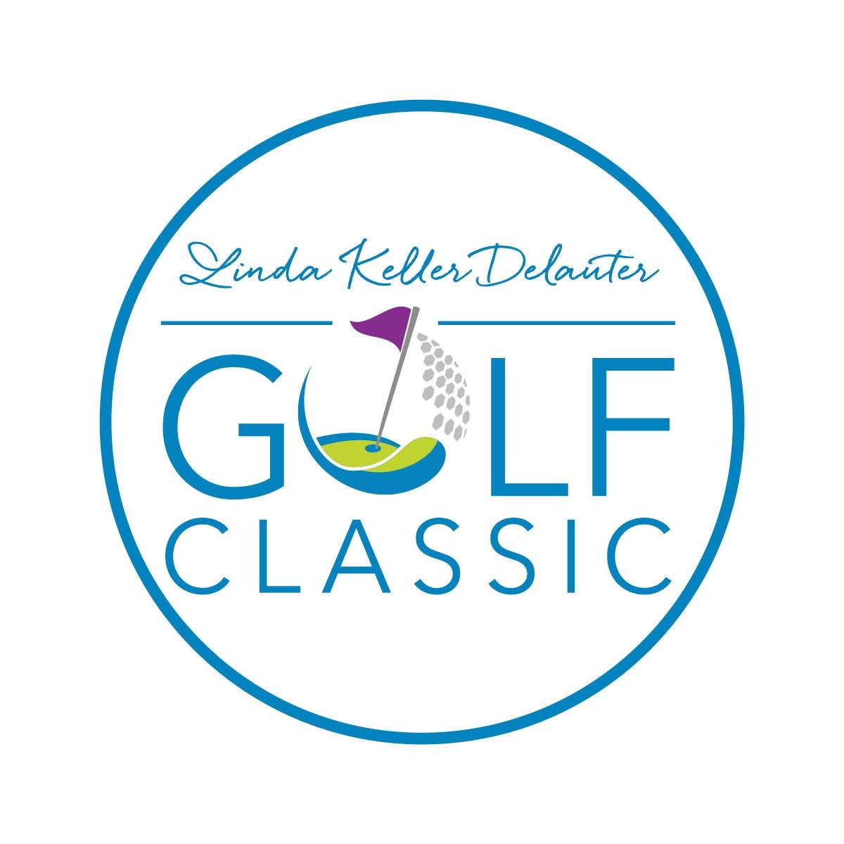 LINDA KELLER DELAUTER GOLF CLASSIC Logo