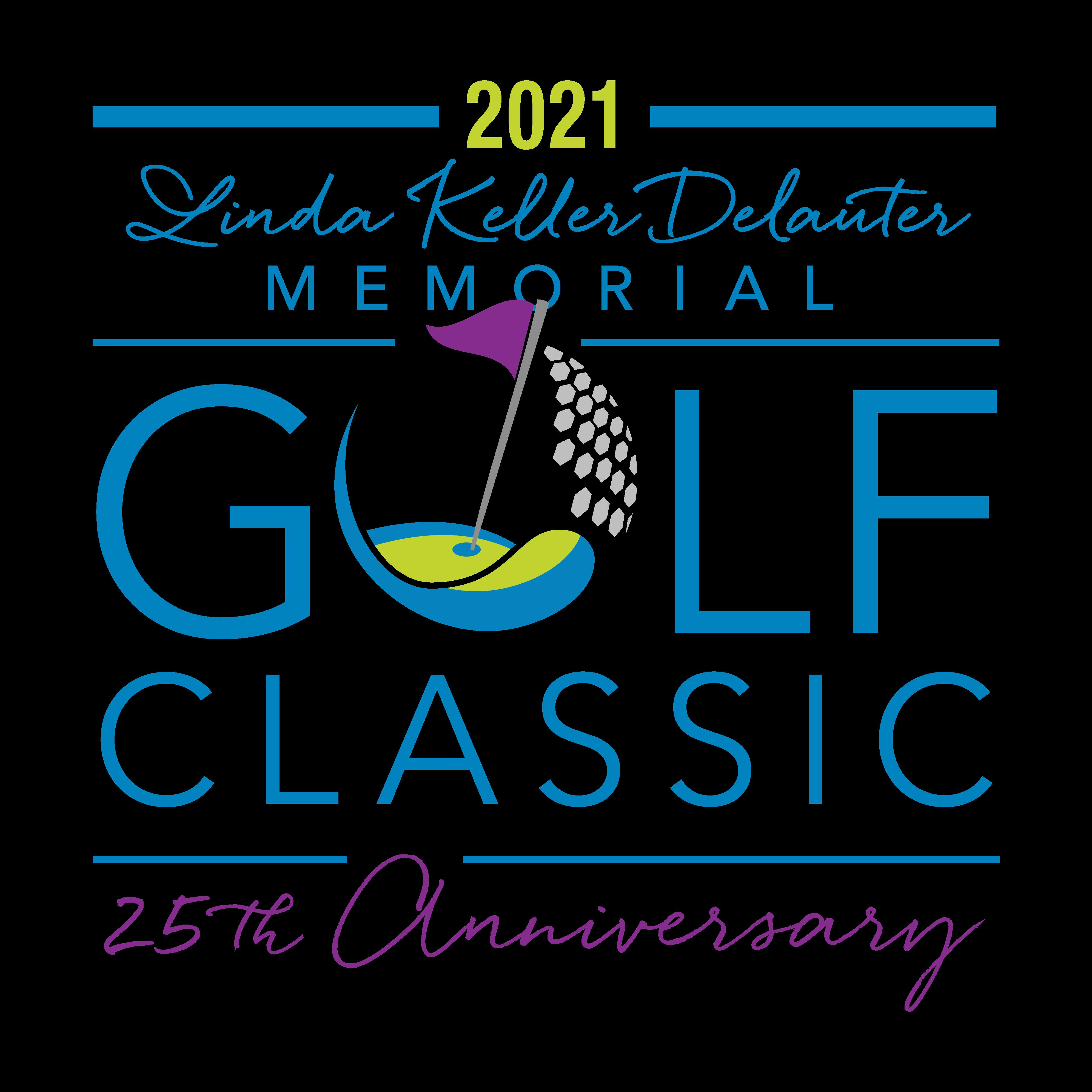 Linda Keller Delauter Memorial Gold Classic 25th Anniversary Logo