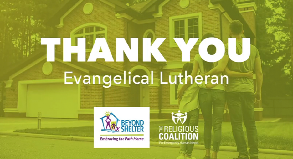 Thank You Evangelical Lutheran