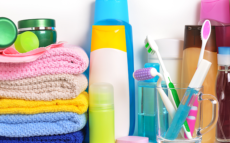 Personal Care Items Available for Pickup